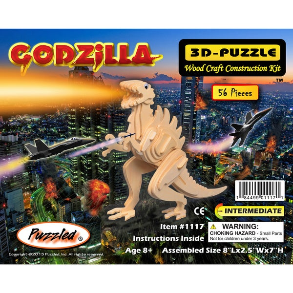 Puzzled 3D Puzzles Godzilla