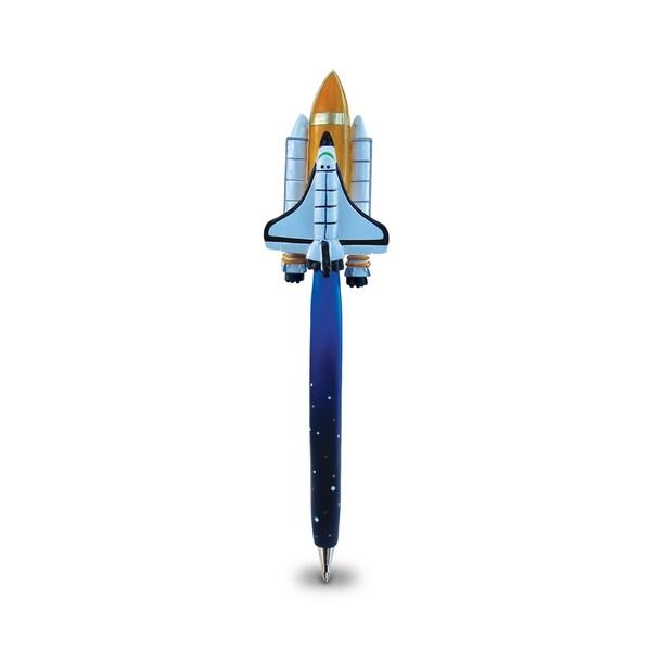 Puzzled Space Shuttle Planet Pen