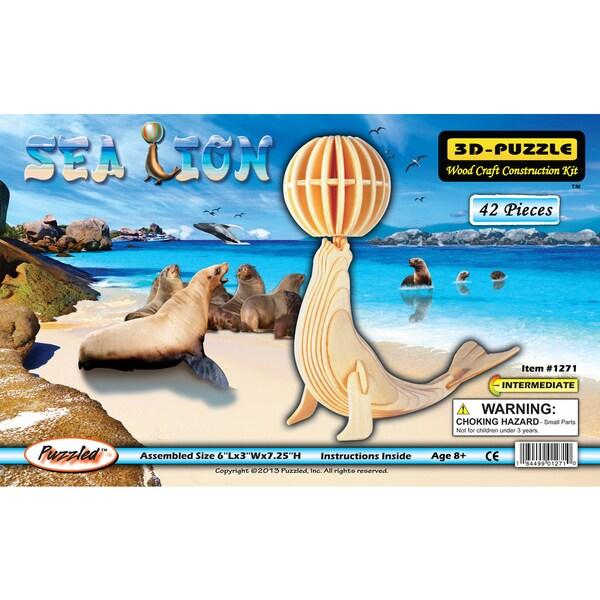 Puzzled Sea Lion 3D Puzzle