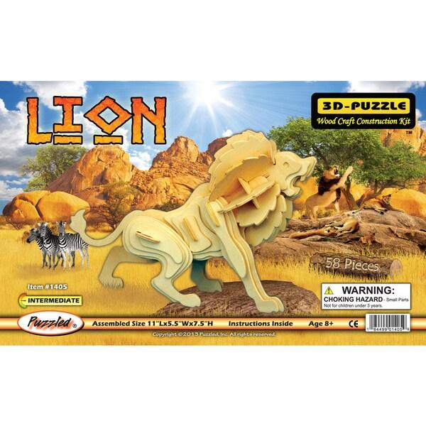 Puzzled Lion 3D Puzzle