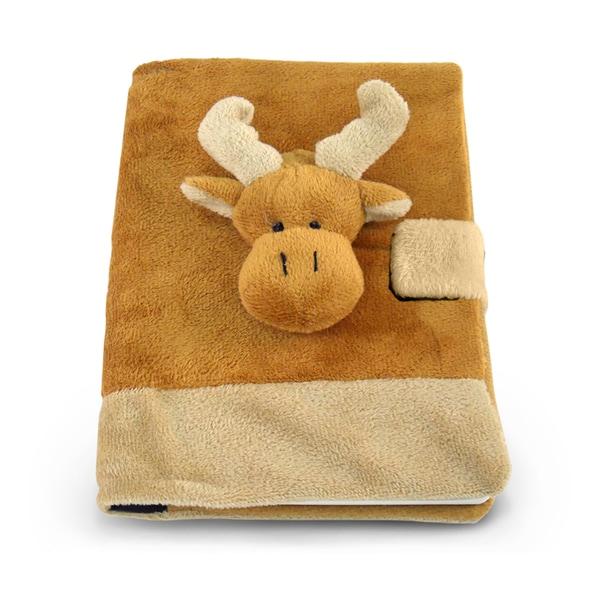 Puzzled Plush Moose Notebook 20056543