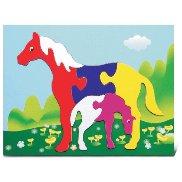 Puzzled Horses Fun Puzzle