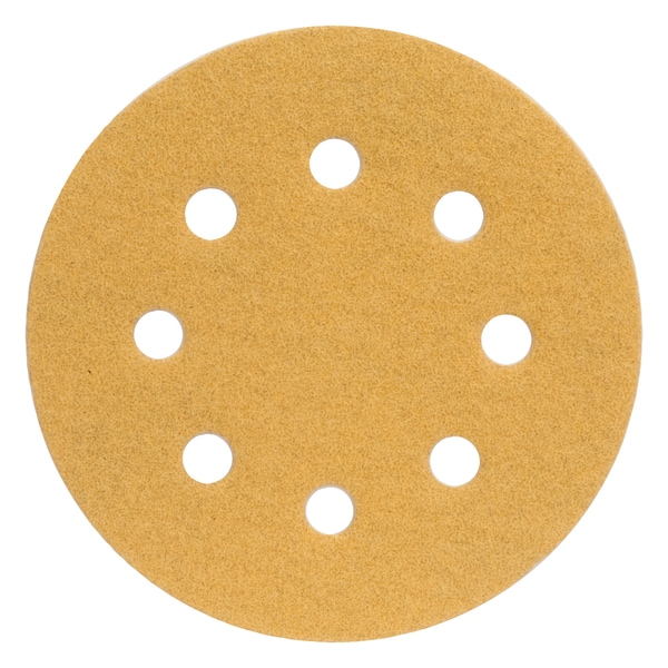 "Norton 02503 4-1/2"" Coarse Grit Hook & Loop Sanding Discs 4-count"