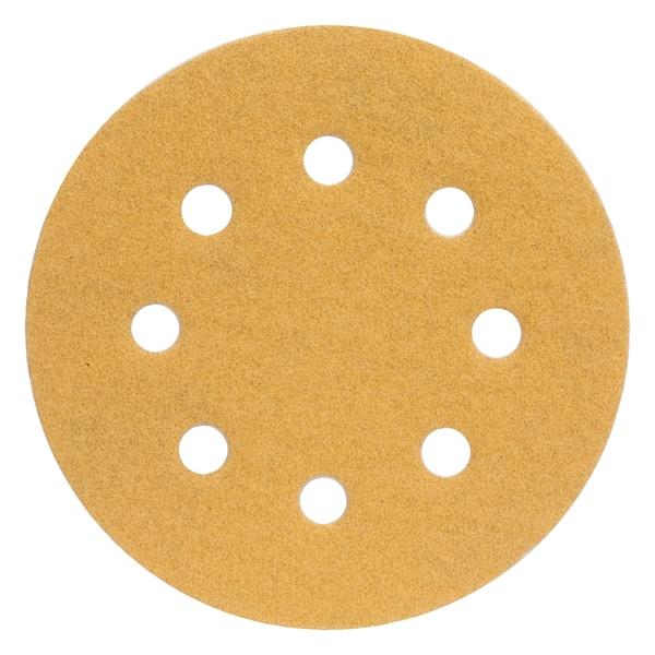 """Norton 02503 4-1/2"""" Coarse Grit Hook & Loop Sanding Discs 4-count"""