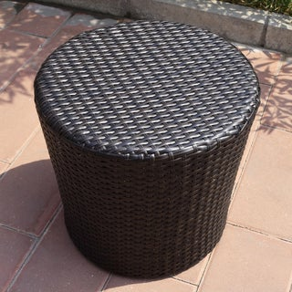 Adeco Wicker Coffee Table