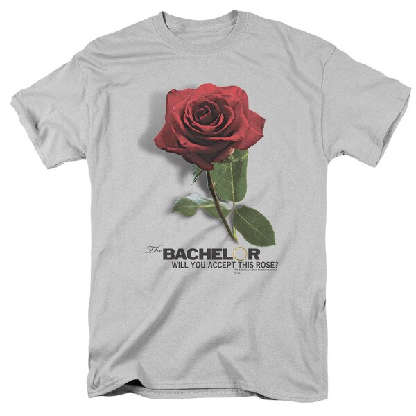BacheLOTR/I Accept Short Sleeve Adult T-Shirt 18/1 in Silver
