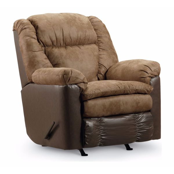 Lane Furniture Talon Two-Tone Rocker Recliner