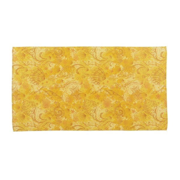 Hawaiian Tropic Yellow Cotton Beach Towel