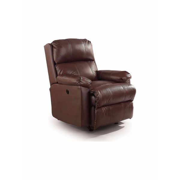 Lane Furniture Timeless Brown Faux-Leather Recliner