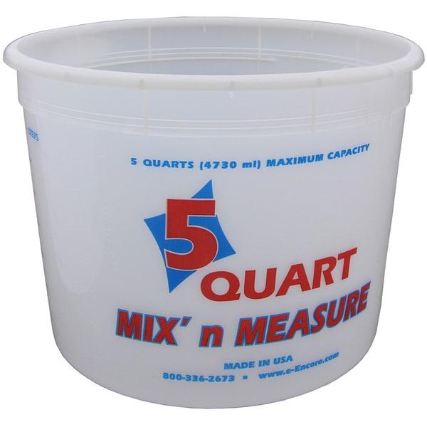 Encore LS809160 5 Quart Mix N' Measure Container