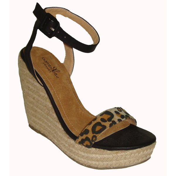 Cymon Leopard Wedge (China)