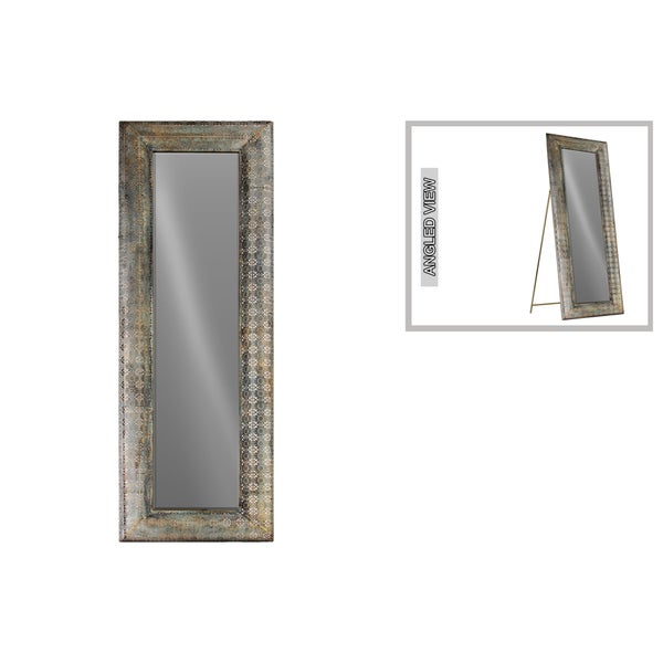 Floor easel canada for Gold frame floor mirror