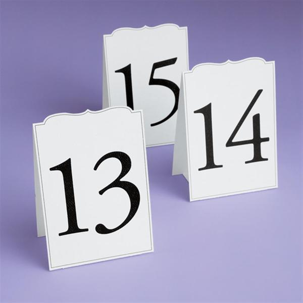Brides Numbers 13 to 24 Ornate Tables