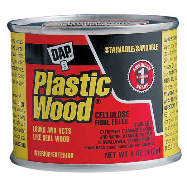 Dap 21400 1/4 LB Light Oak Wood Dough Filler