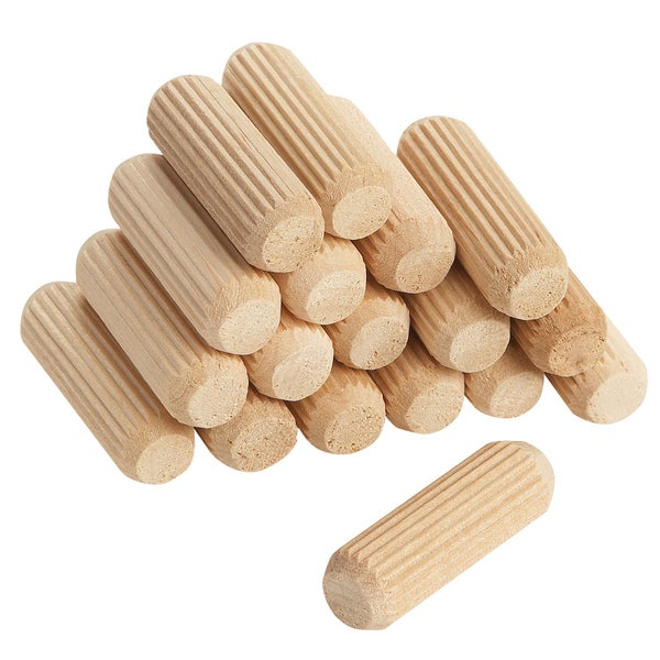 """Vermont American 17109 1/4"""" X 1-1/4"""" Fluted Dowel Pins 36-count"""