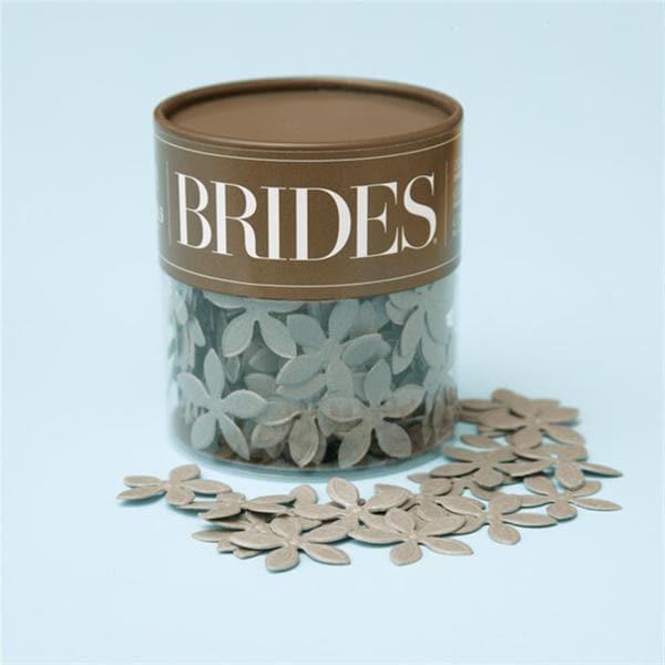 Brides Silver Shimmer Confetti
