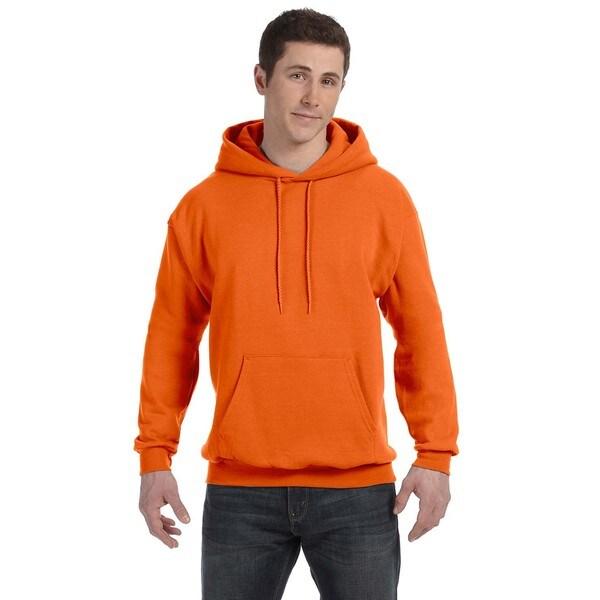 Men's Comfortblend Ecosmart 50/50 Orange Pullover Hood 20074525