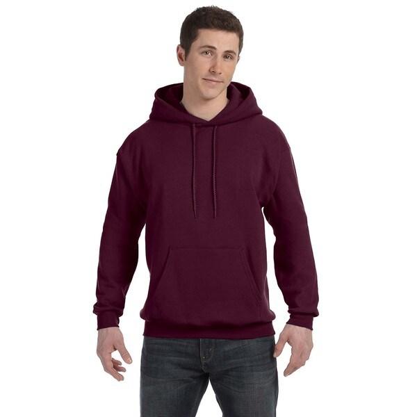 Men's Comfortblend Ecosmart 50/50 Maroon Pullover Hood (XL) 20074550