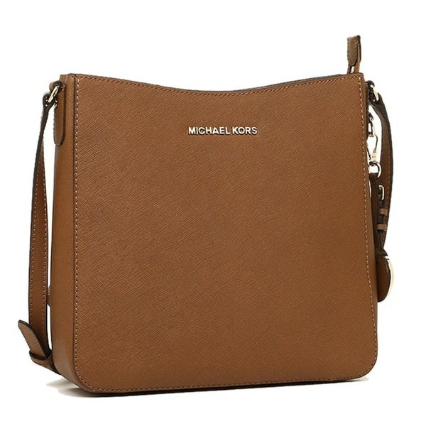 Michael Kors Large Jet Set Travel Luggage Brown Crossbody Handbag