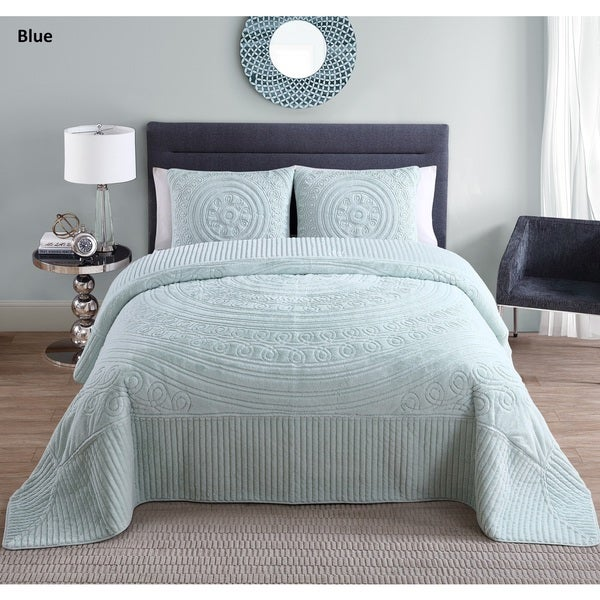 VCNY Hilltop 3-piece Bedspread Set