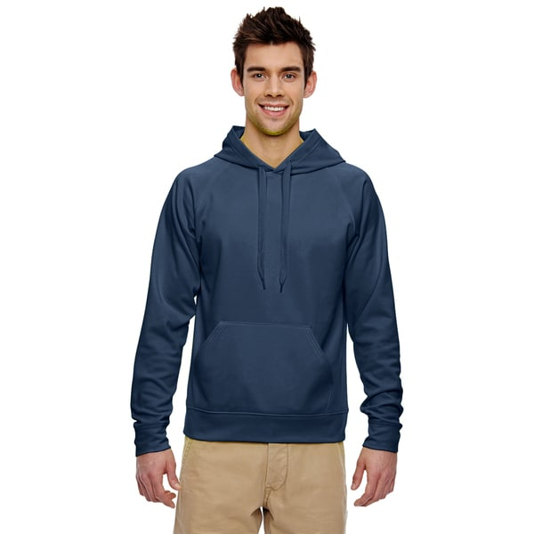 Men's Sport Tech Fleece J Navy Pullover Hood