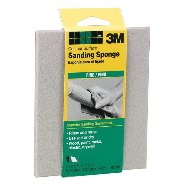 3M 917DC-NA Fine Contour Surface Sanding Sponges