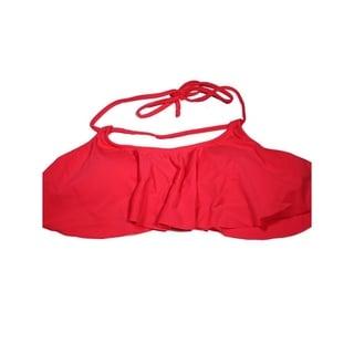 Women's Hanky Top Fushia Nylon/Spandex Bikini
