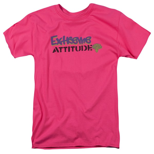 Warheads/Extreme Short Sleeve Adult T-Shirt 18/1 in Hot Pink