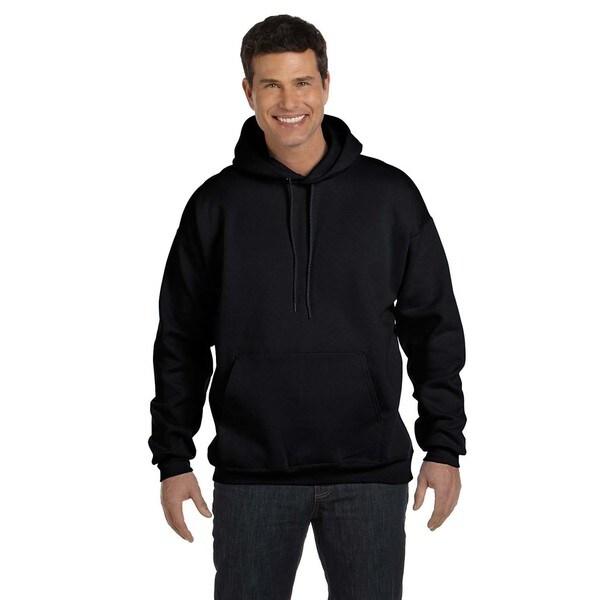Men's Ultimate Cotton 90/10 Pullover Black Hood
