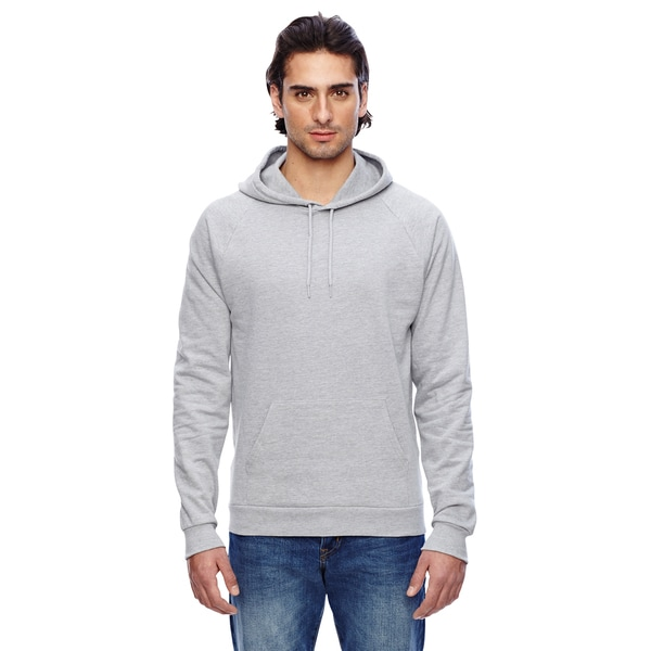 California Men's Heather Grey Fleece Pullover Hoodie