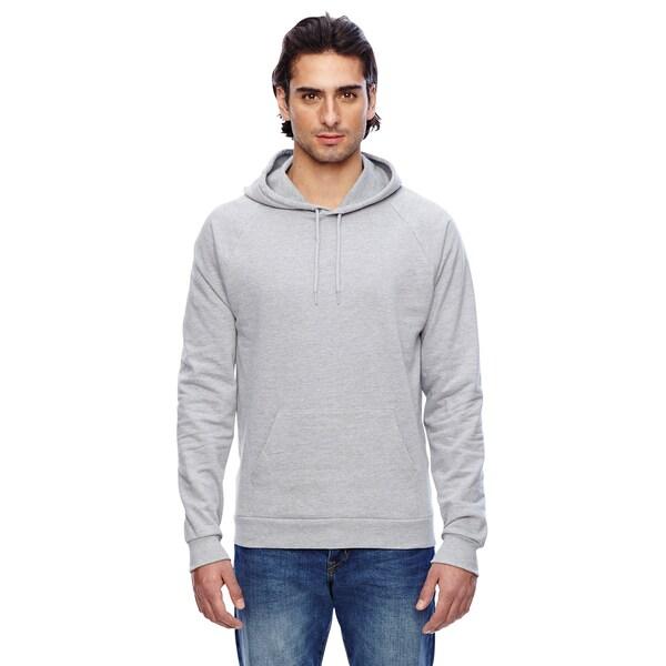 California Men's Heather Grey Fleece Pullover Hoodie(XS, XL)