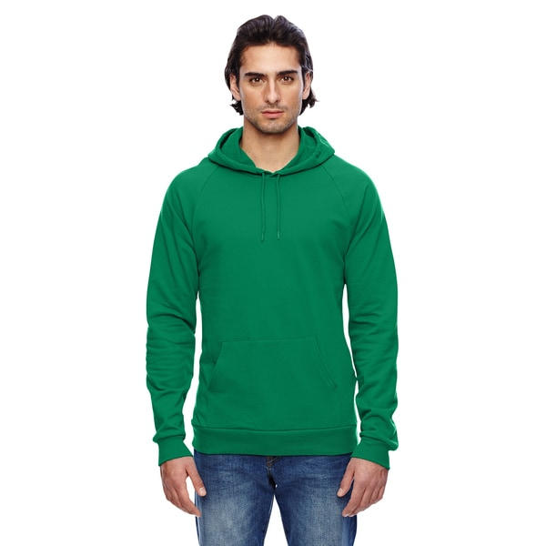 California Men's Fleece ie Kelly Green Pullover Hood