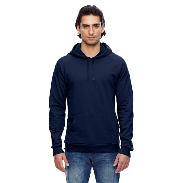 California Men's Fleece ie Navy Pullover Hood(XS, XL)