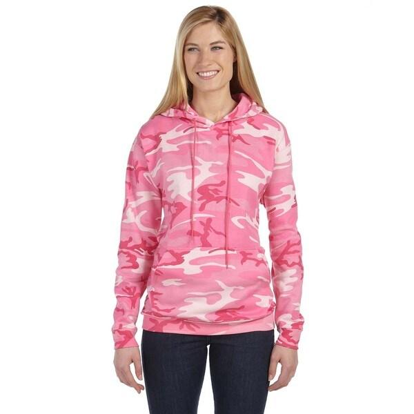 Camouflauge Men's ed Sweatshirt Pink Woodland Pullover Hood