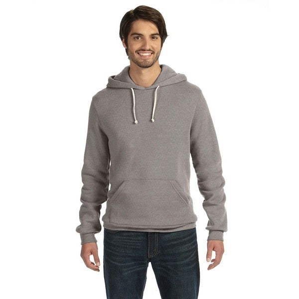 Challenger Men's Eco-Fleece Eco Grey Pullover Hoodie