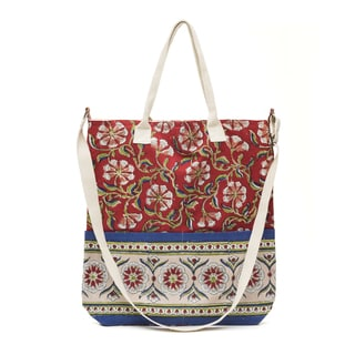 Kalini Multi-Purpose Tote - Scarlet (India)