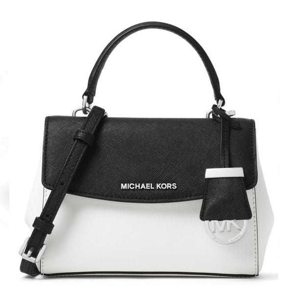 MICHAEL KORS Ava X-Small Saffiano Leather Crossbody Bag