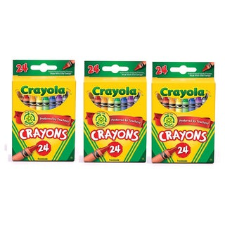 Crayola 24-count Crayons (Pack of 3)