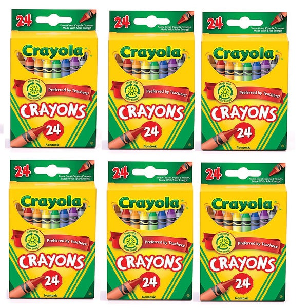 Crayola 24-count Crayons - (Pack of 6)
