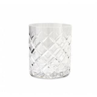 Rockefeller Rocks Crystal Tumblers by Lionel Richie Home (set of 6)