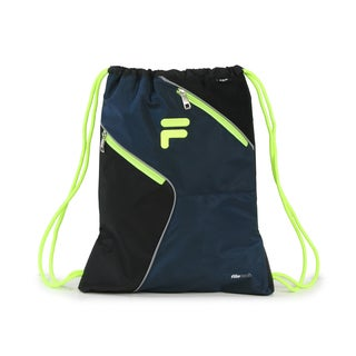 Fila X11 Navy Sackpack Drawstring Backpack