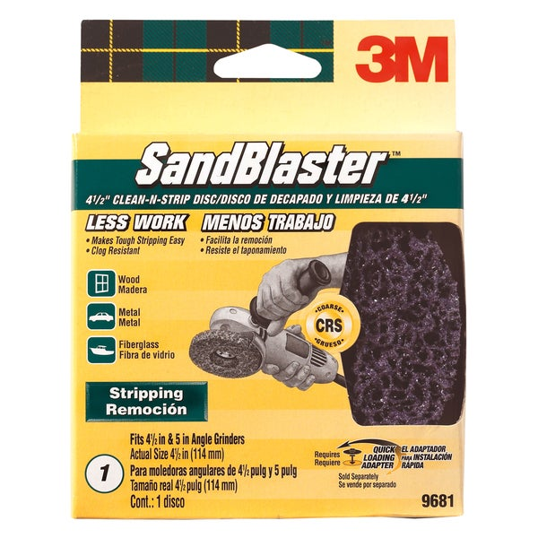 3M 9681 SandBlaster Clean-N-Strip Disc