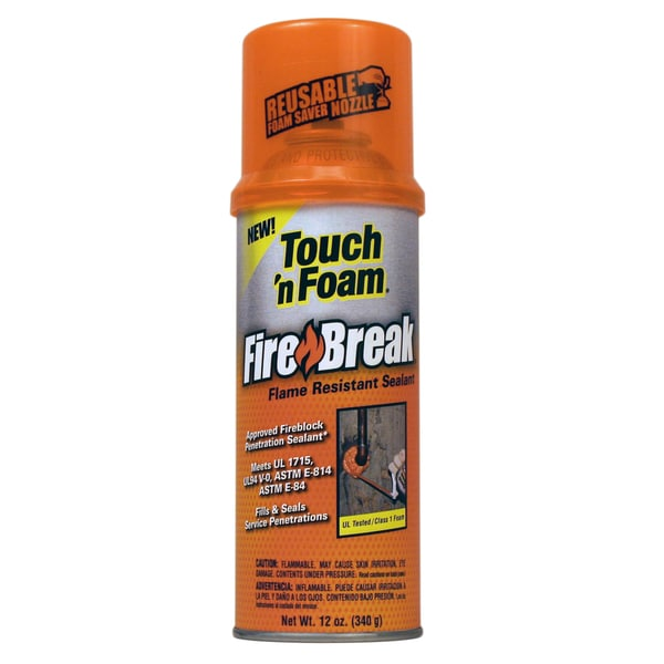 Touch n Foam 4004501212 12 Oz Touch 'n Foam Fire Break