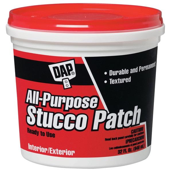 Dap 10504 1 Quart White All Purpose Stucco Patch RTU