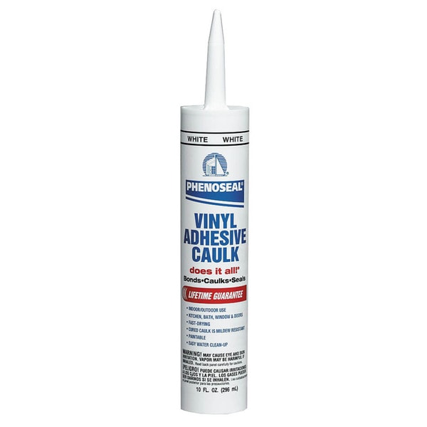 Dap - Phenoseal 00005 White Phenoseal Does It All! Vinyl Adhesive Caulk