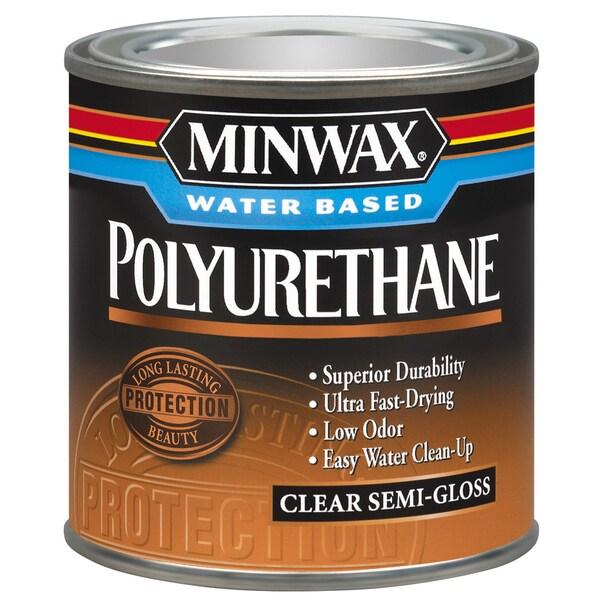 Minwax 23020 1/2 Pint Minwax Water Based Polyurethane