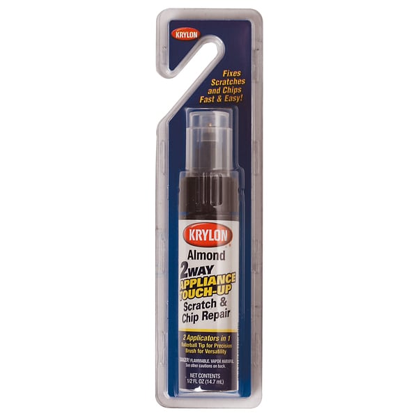 Krylon 7702 .5 Oz Almond Appliance Touch Up Paint Tubes