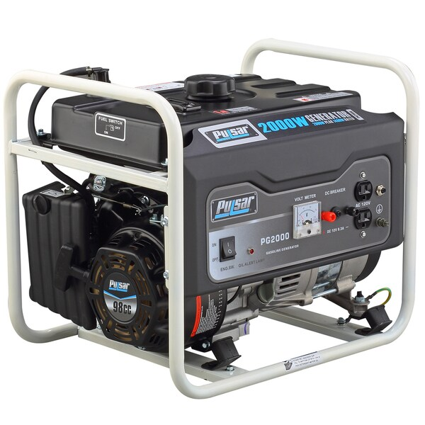Pulsar PG2000R 2000 Watt CARB Approved Gas Generator