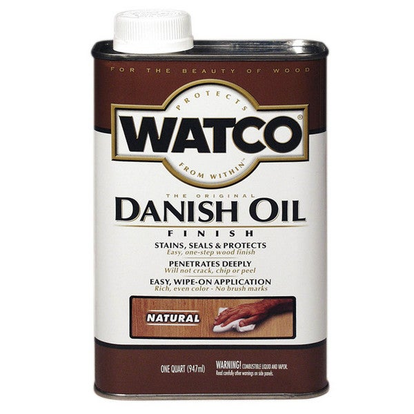 Watco 242218 1 Quart Natural Danish Oil Finish