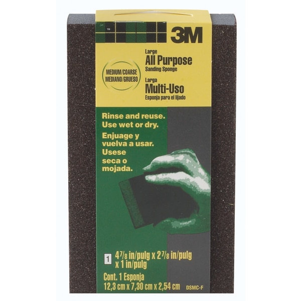3M DSMC-F Medium To Coarse Large Area Sanding Sponges